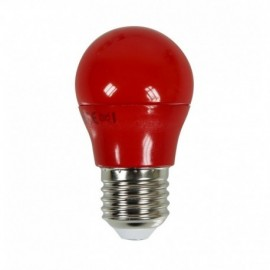Ampoule LED E27 G45 3,5W Rouge