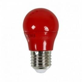 Ampoule LED E27 G45 3,5W Rouge