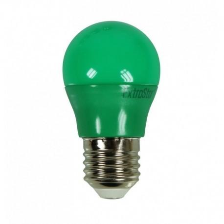 Ampoule LED E27 G45 3,5W Vert