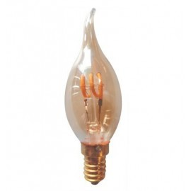 Edison Ampoule Filament E14 C35 3W 2200K