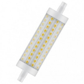 Ampoule LED R7S Rond 26 x 118 mm 8W 3000K